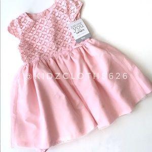 🍭 JOY by Carter's Pink Spring Dress